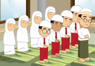 anmasi belajar sholat 5 waktu ibadah baca Al-qur'an ibadah tahajut