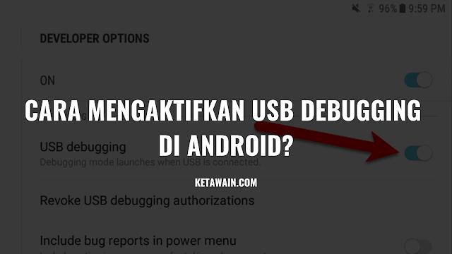 Mengaktifkan USB Debugging