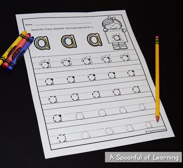Alphabet Activities 2