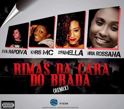 Rimas da Cara do BRADA | DIVAS DO RAP (DOWNLOAD)