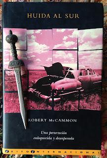 Portada del libro Huida al sur, de Robert McCammon
