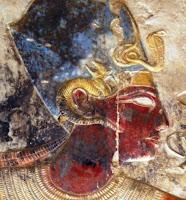 Amon Ra mit Widderhörnern