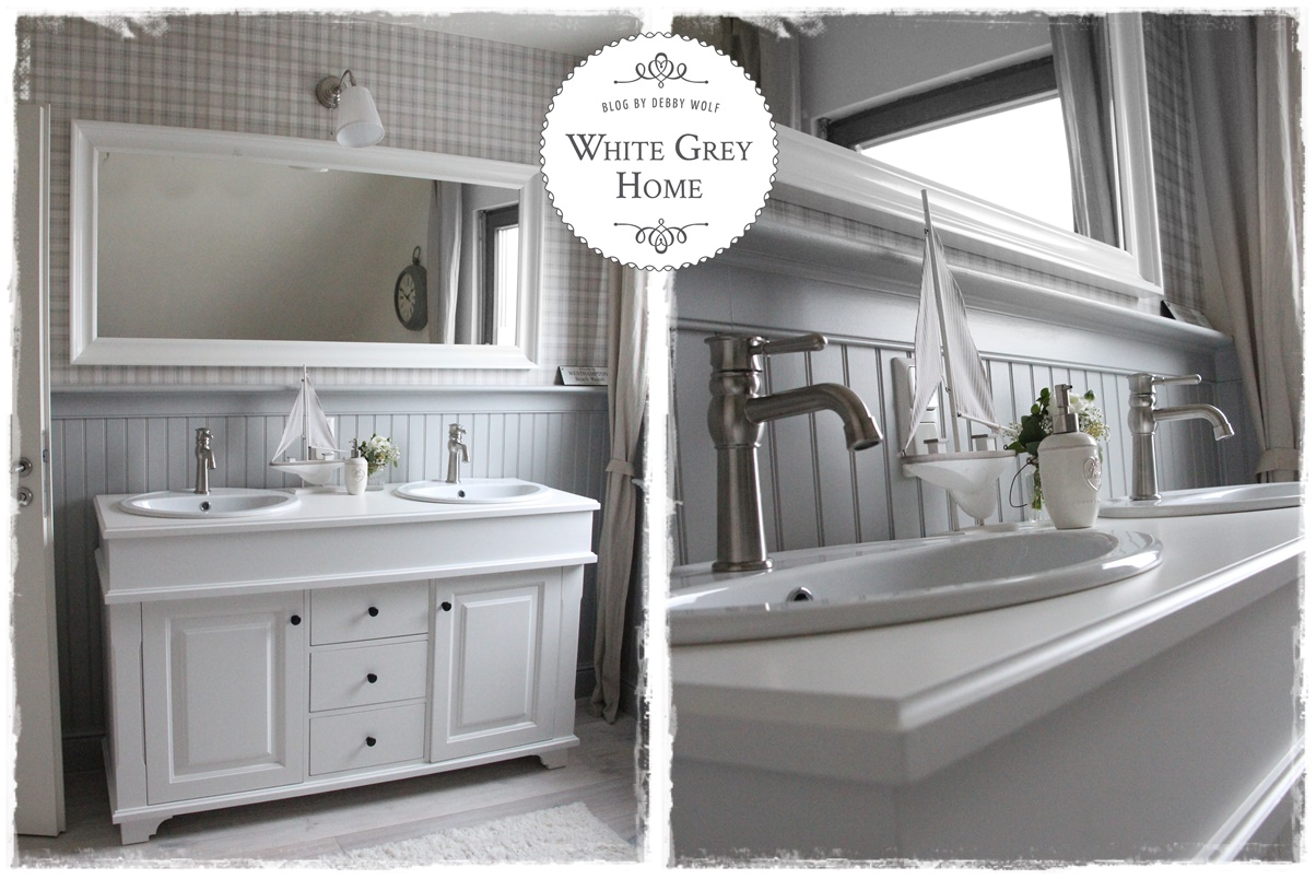 white grey home: Ein neues Bad musste her