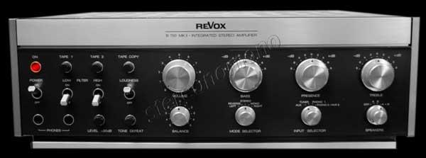 stereonomono revox b 750 1980. Black Bedroom Furniture Sets. Home Design Ideas