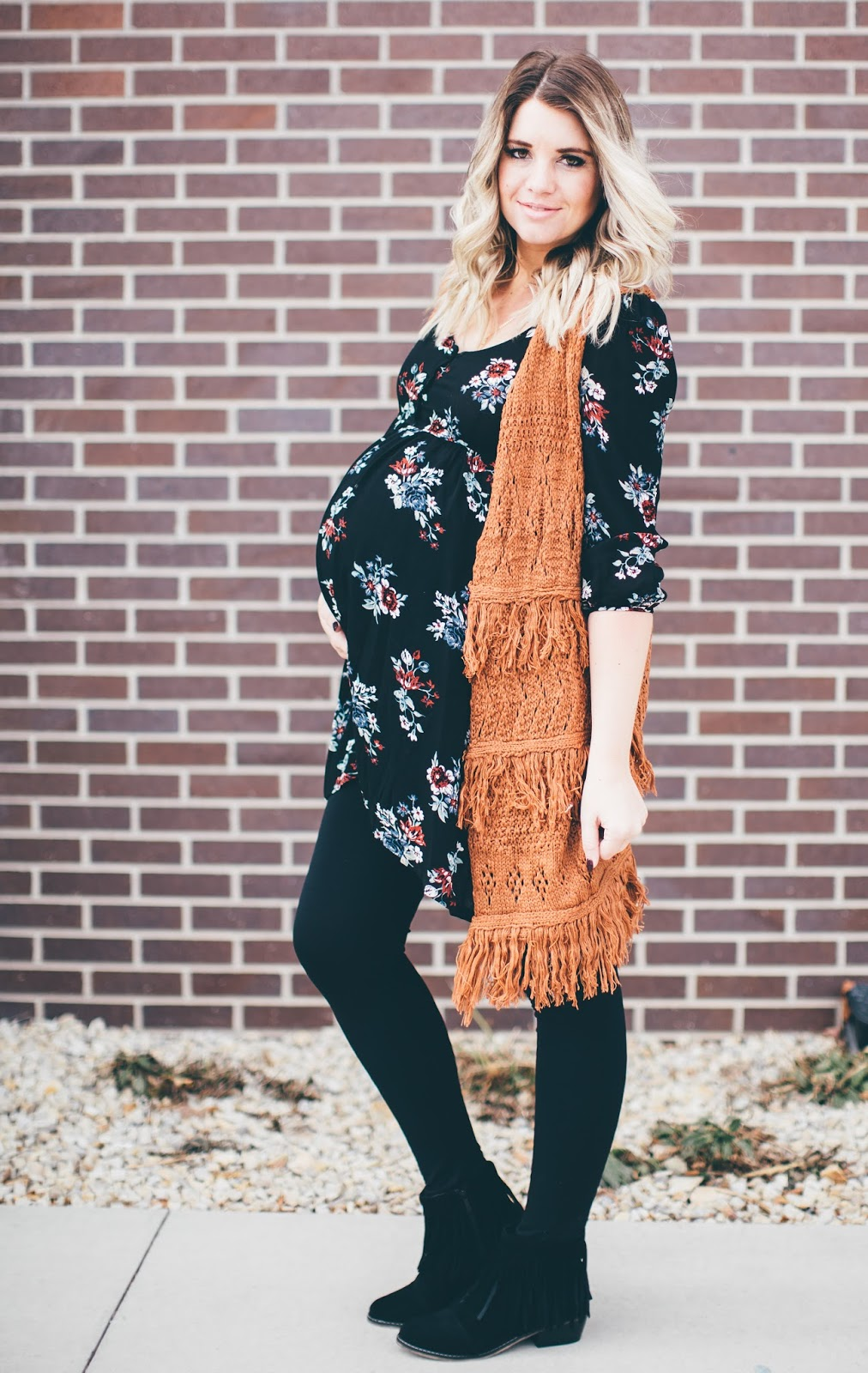 Paige Avenue, Utah Fashion Blogger, Fringe Cardigan, Fringe Booties