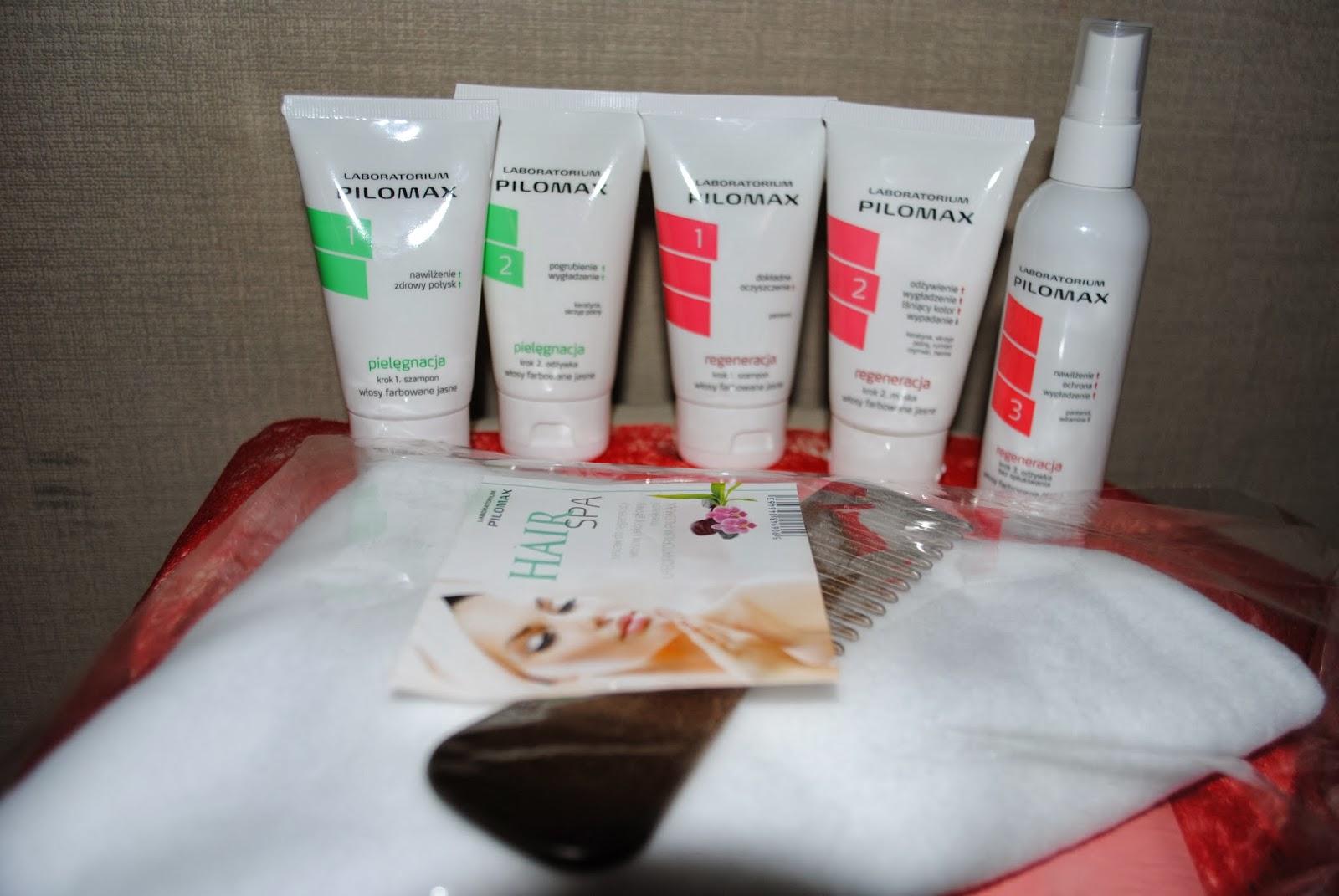 Kosmetyki do regeneracji włosów PILOMAX