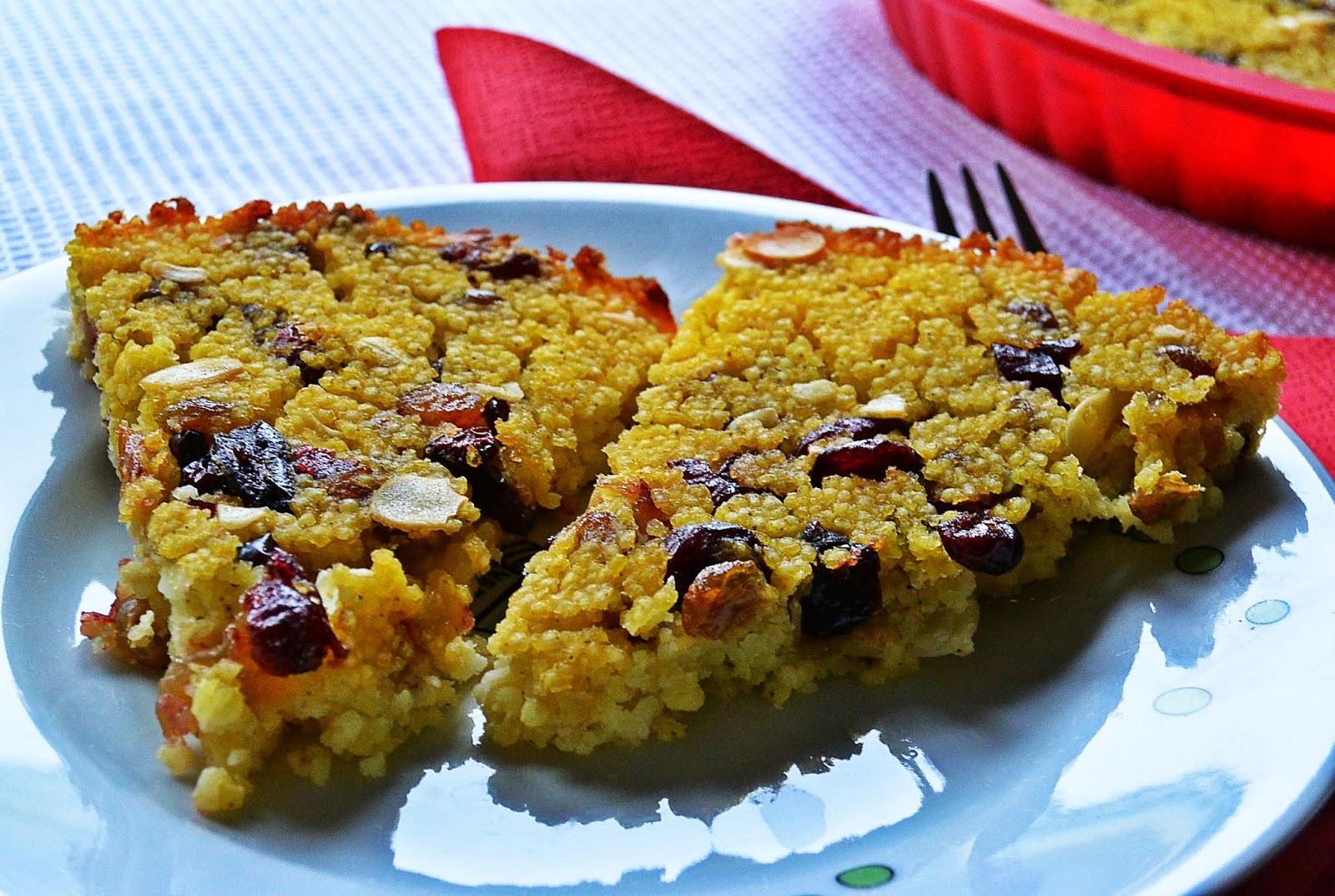 Jaglaniec - ciasto z kaszy jaglanej