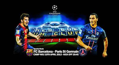 القنوات المجانية الناقلة : دوري أبطال أوروبا - الثلاثاء : باريس سان جرمان – برشلونة Free carrier channels: the Champions League - Tuesday: PSG - Barcelona