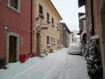 neve a Pescasseroli epifania