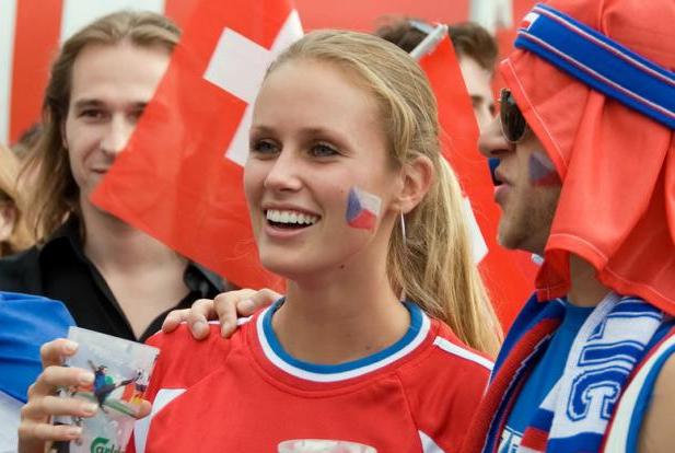 Czech Republic Female Fans Euro 2016