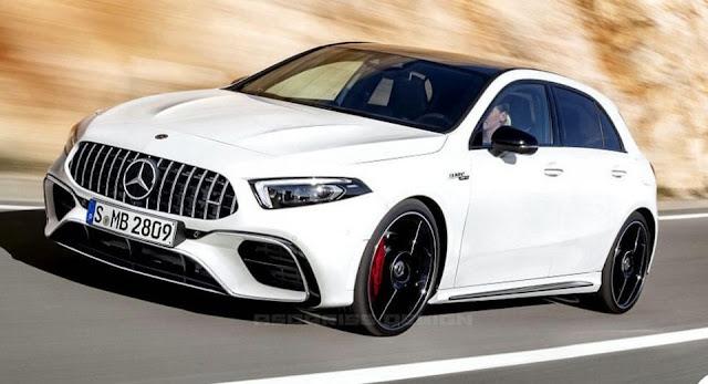 AMG, Mercedes, Mercedes A-Class, Mercedes A45 AMG, Mercedes AMG, Renderings