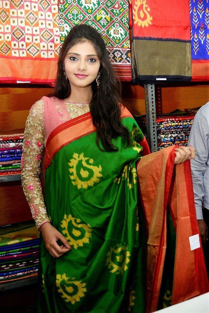 Aishwarya Gorak Inaugurates Pochampally IKAT Mela Stills