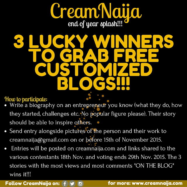 3BLOGS 3WINNERS- HOW TO PARTICIPATE
