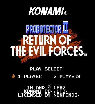 【FC】魂斗羅機器人版1+2合集,Konami經典動作射擊遊戲!