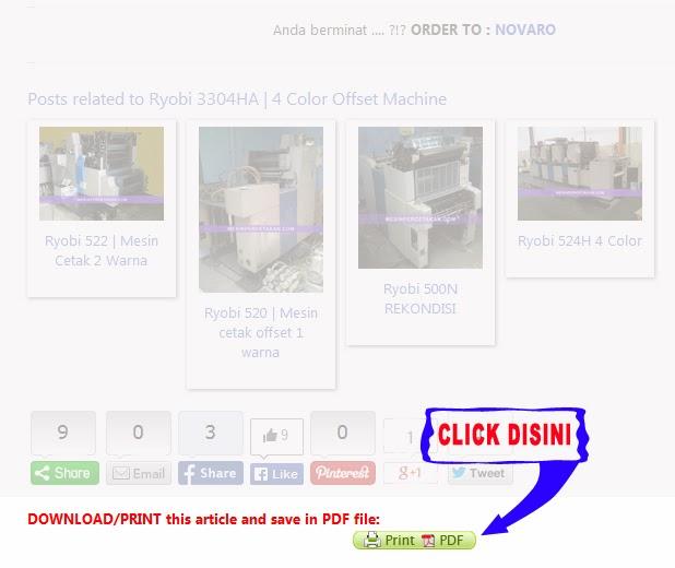 Harga mesin percetakan murah | CARA DOWNLOAD