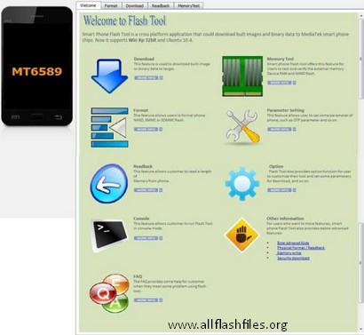 Smartphone Flash Tool Software Latest v5.1528.00