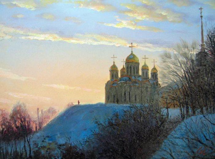 Российский художник. Игорь Родионов