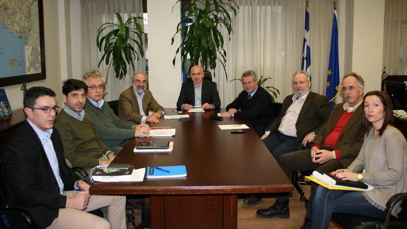 Σύσκεψη στην Περιφέρεια ΑΜ-Θ για την υλοποίηση του Περιφερειακού Σχεδιασμού Διαχείρισης Αποβλήτων