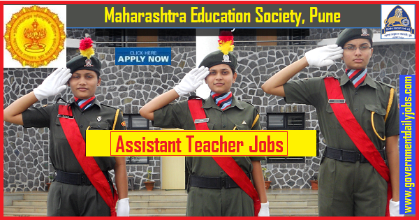 MES Pune Recruitment 2019, 205 Teacher Vacancies, Apply online