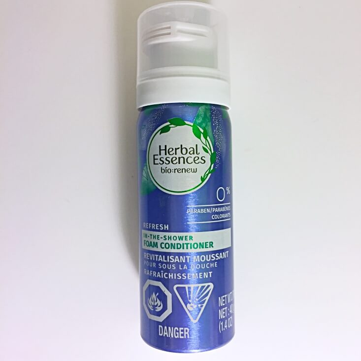 Herbal Essences Bio Renew Foam Conditioner Blue Ginger