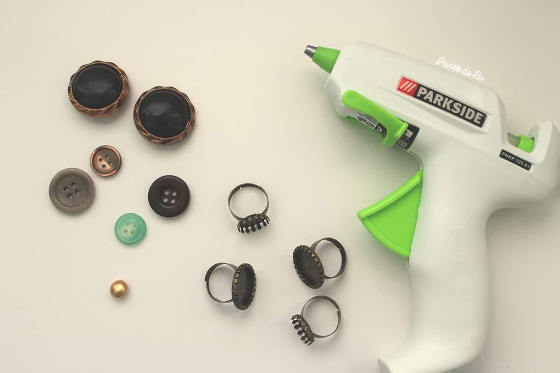 Tutorial para hacer anillos con botones