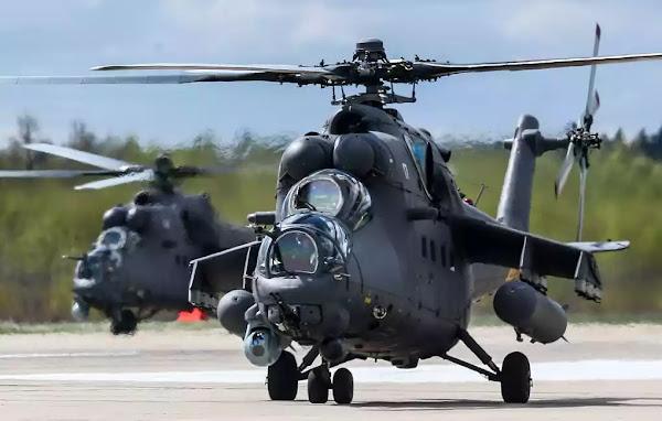 Η Σερβία παρέλαβε 4 επιθετικά ελικόπτερα Mi-35 από τη Ρωσία (βίντεο)