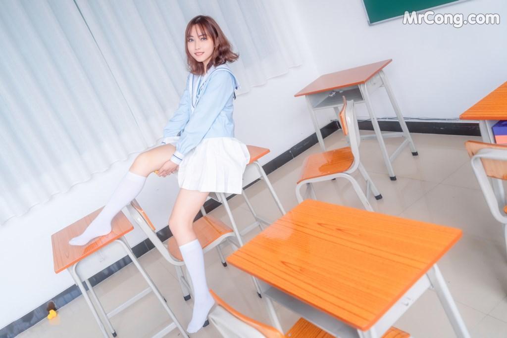 [MTCos] 喵糖映画 Vol.009: 小黄鸭与白丝 (43P)