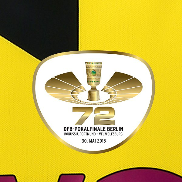 Borussia Dortmund 2015 DFB-Pokal Final Shirt Revealed ...