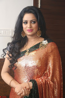Udaya Bhanu lookssizzling in a Saree Choli at Gautam Nanda music launchi ~ Exclusive Celebrities Galleries 047.JPG