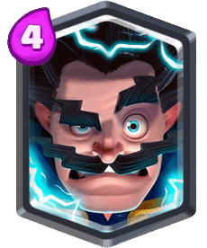 Card Mage Electric Clash Royale - Cards Wiki