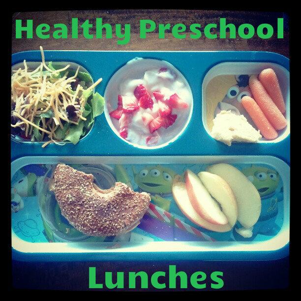 Healthier Preschooler Lunches