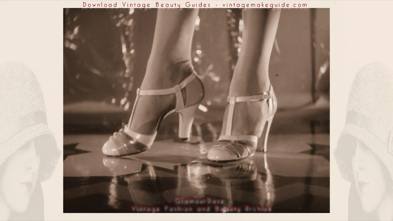 Gorgeous Shoe Fashions ( Vintage Film 1936