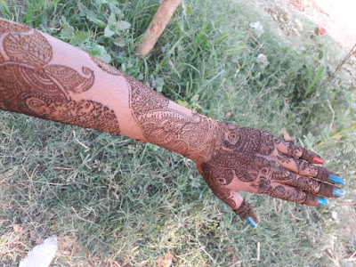 New Designer of Mehendi