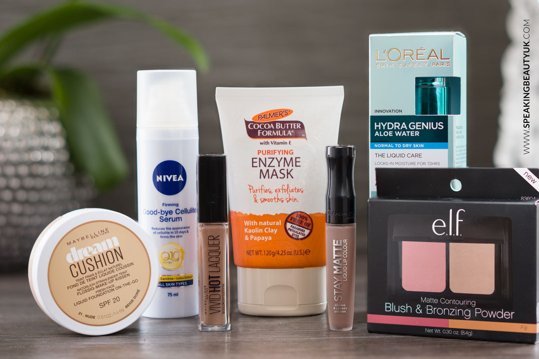 Drugstore Beauty Haul