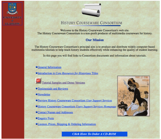 Guest Post: Online Tutorials from the History Courseware Consortium