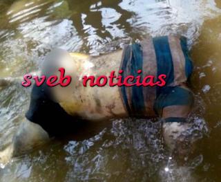 Van 3 cuerpos hallados presuntamente ejecutados en el río Tesechoacan