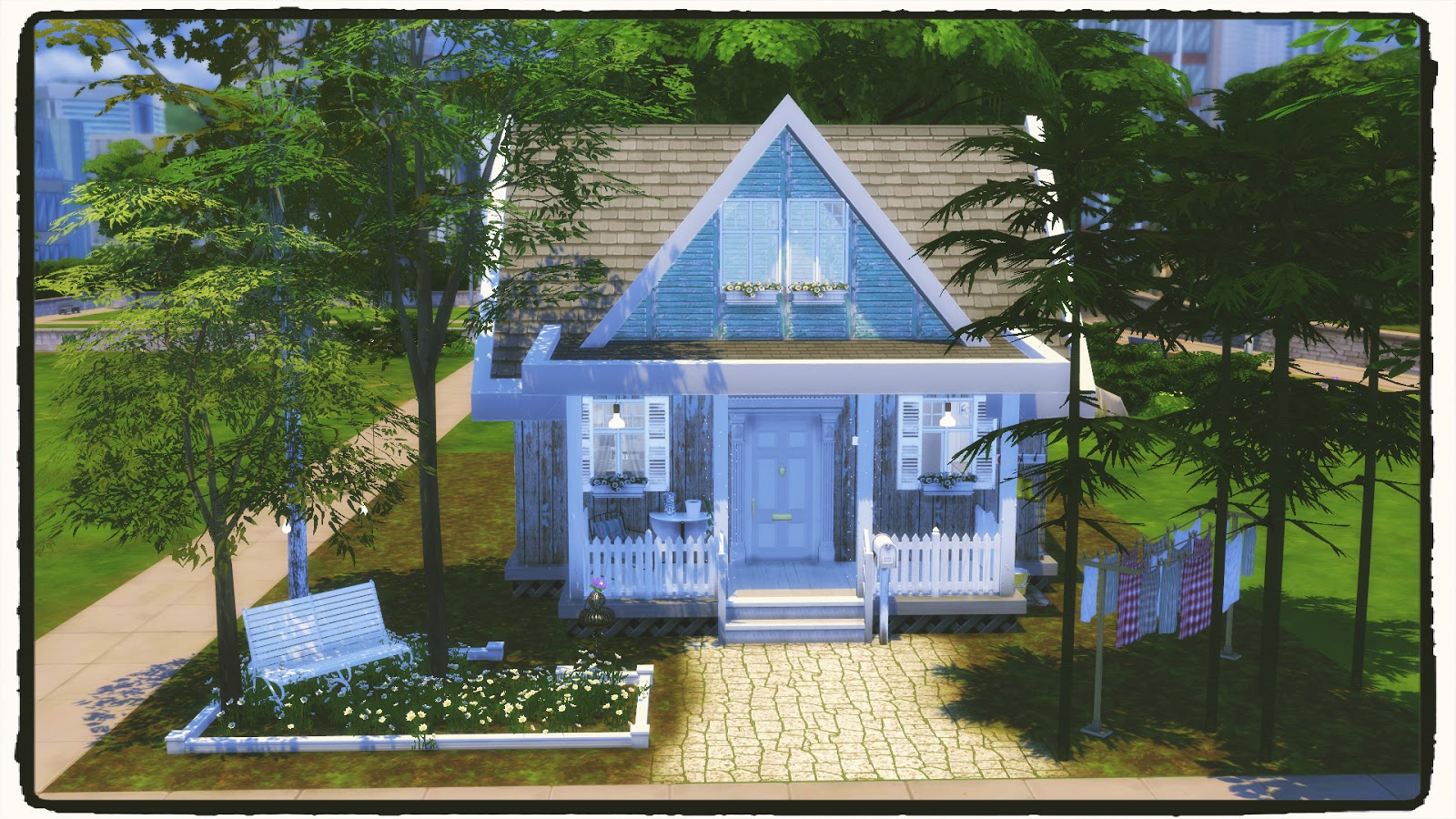 Sims 4 starter house dinha for House 4