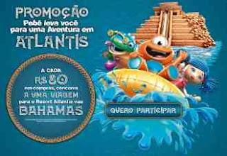 Cadastrar Promoção PBKids Dia das Crianças 2018 Aventura Atlantis Bahamas