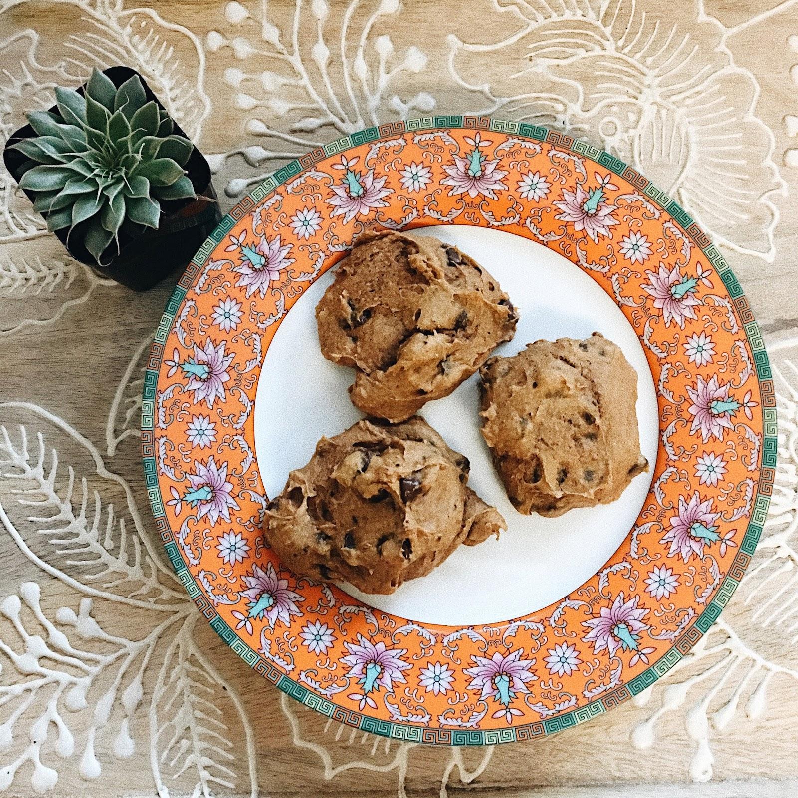 3 ingredient pumpkin chocolate chip cookies world market
