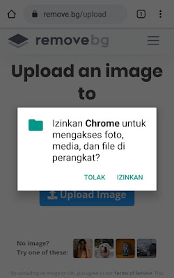 Cara Mengganti Background Foto Dengan HP 2