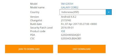 Laptop yang mau diterangkan dengan lengkap Cara Flash Samsung Core 2 Duos SM-G355H Indonesia Dengan PC