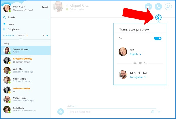 Skype Translator comes to Skype for Windows