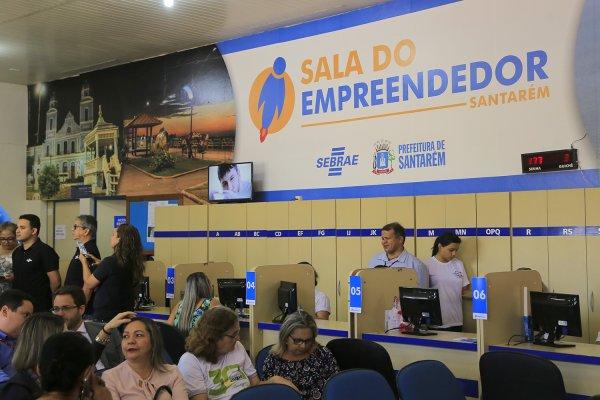 Prefeitura de Santarém inaugura Sala do Empreendedor