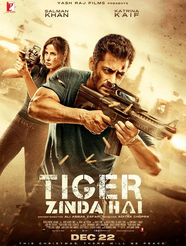 Mega Review : Tiger Zinda Hai - is a perfect story with lots of Action,Emotion and Patriotism