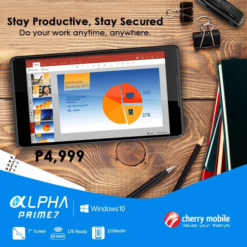 Cherry Mobile Alpha Prime 7