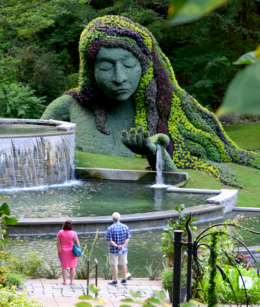 Earth Goddess | Imaginary Worlds | Atlanta Botanical Garden | Photo: Travis S. Taylor