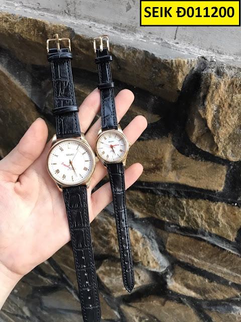 Đồng hồ dây da Seik Đ011200