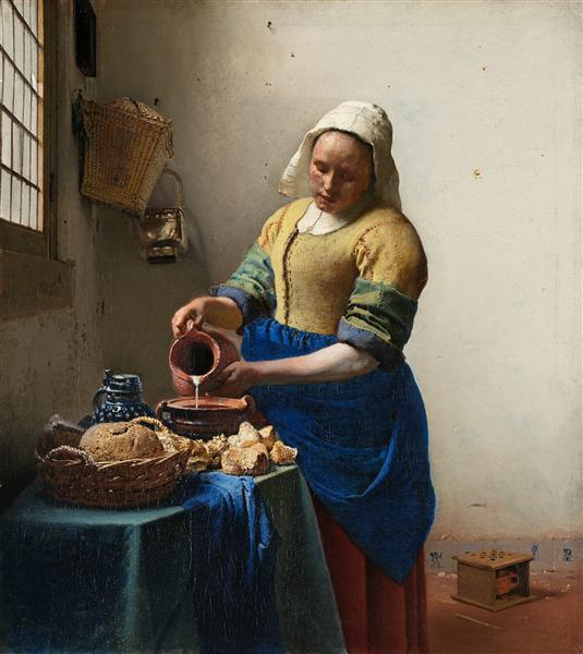 Jan Vermeer Молочница