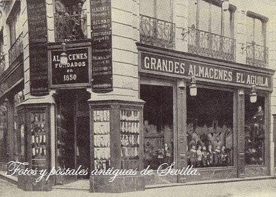 Fotos y postales antiguas de sevilla de compras por la - Antigua casa jove ...
