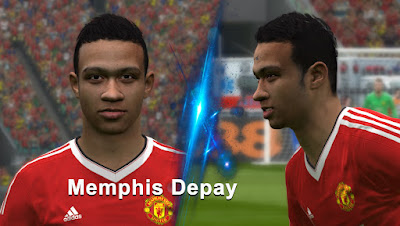 PES 2016 Memphis Depay Face by love01010100
